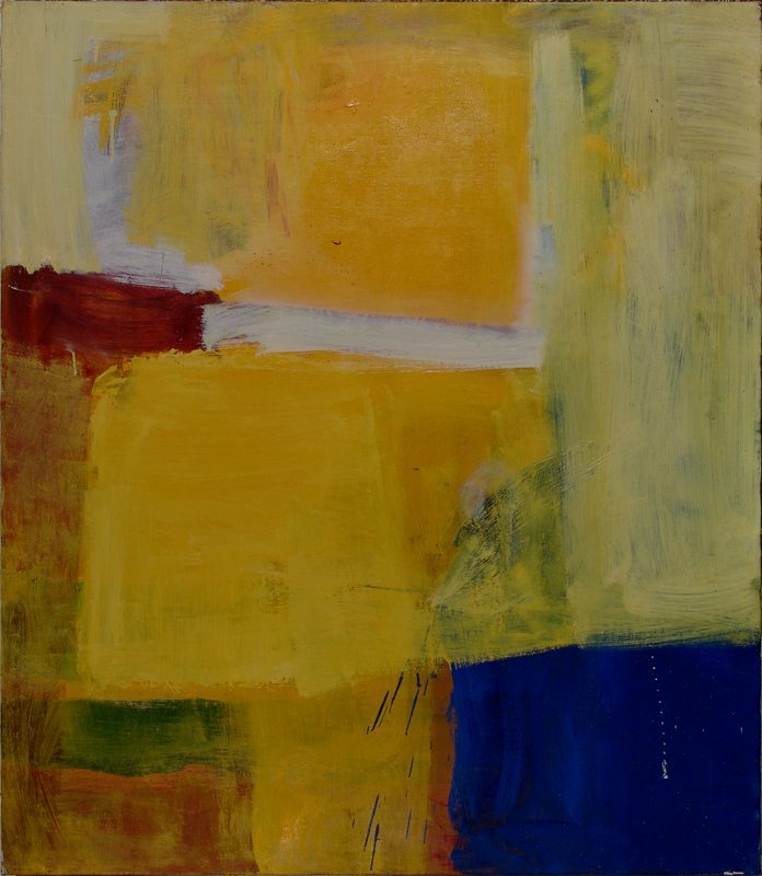 kunstrum.dk - Yellow and Blue - Pierre McGuffie